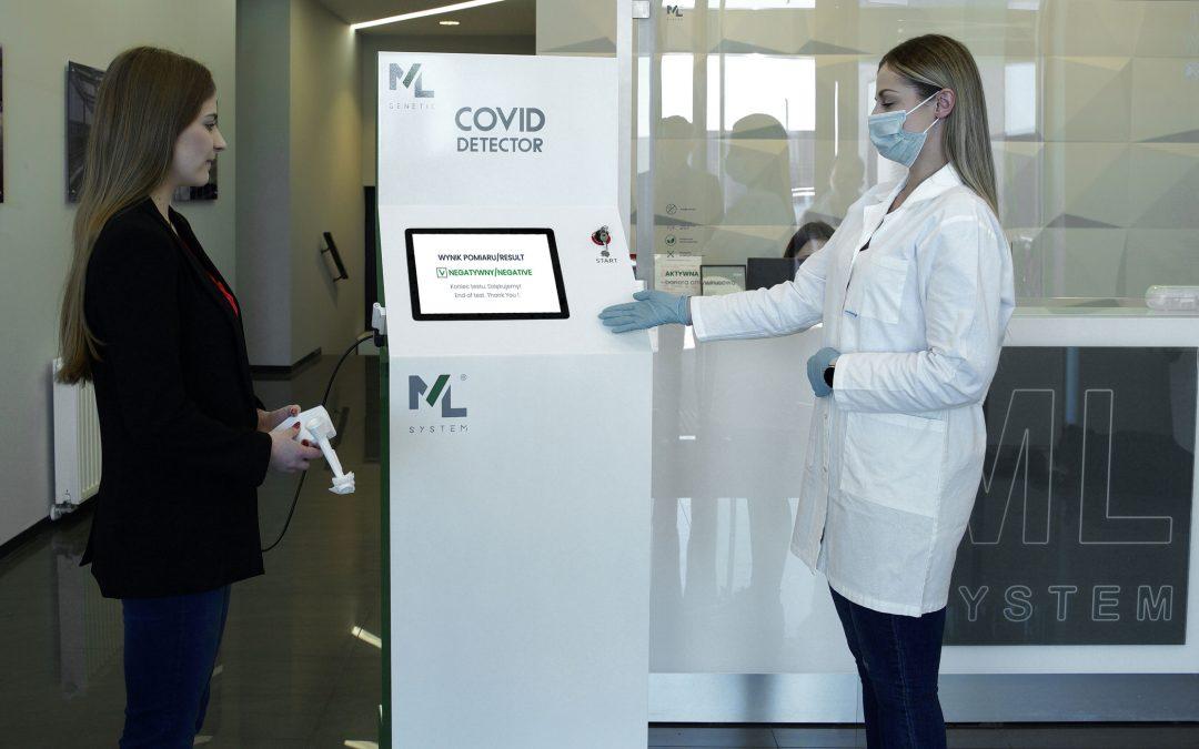 """ML System uzyskał wyniki oceny przydatności klinicznej, czułości i specyficzności """"Covid Detectora"""""""
